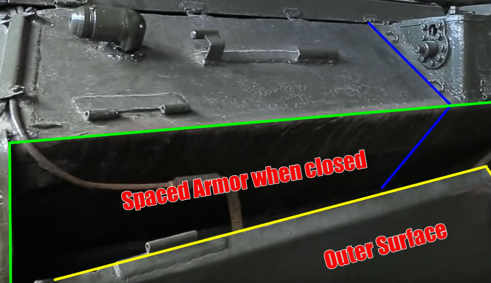 IS-7 Tank Spaced Armor