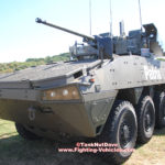 Patria AMV Armored Modular Vehicle Warrior WSCP Turret with Javelin ATGM Launcher