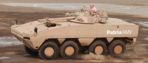 Patria AMV Armored Modular Vehicle BMP-3 Turret