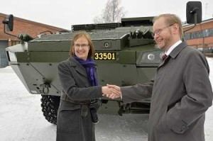 Patria AMV Armored Modular Vehicle Sweden