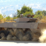 Patria AMV Badger with  Denel Modular Combat Turret (MCT)