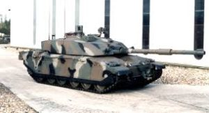 Challenger 2E Tank – Note Missing Thermal Sight Above Main Gun