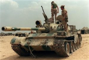Type 69 Tank captured by Coalition Forces in Iraq