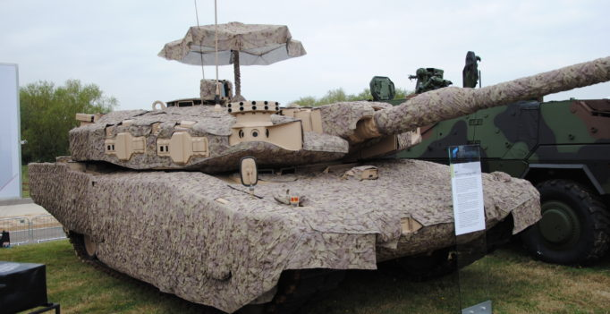 Leopard 2 Tank Advanced Technology Demonstrator