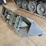 Leopard 2A5 Tank MEXAS Armor Turret Side whole