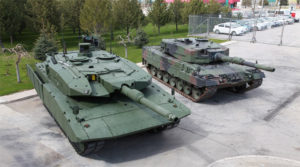 Leopard 2 Next Generation Tank and Leopard 2A4