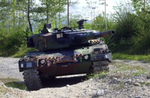 Pz 87 Leopard 2 – Latest in service model  Pz 87 WE