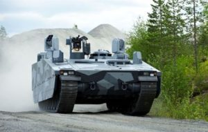Combat Vehicle 90 – CV90 Armadillo