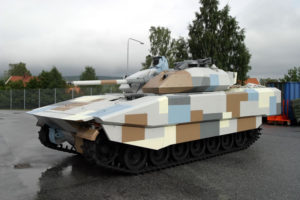 Combat Vehicle 90 – CV90 Rafael Reactive Armor