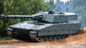 Combat Vehicle 90 – CV90 XC-8 105HP Turret