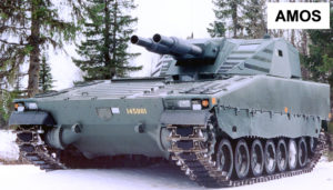 Combat Vehicle 90 - Mk0 Strf 9040 AMOS