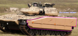 Combat Vehicle 90 - Mk0 Strf 9040C Remo