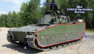 Combat Vehicle 90 - Mk2 CV9030 Norway Upgrade