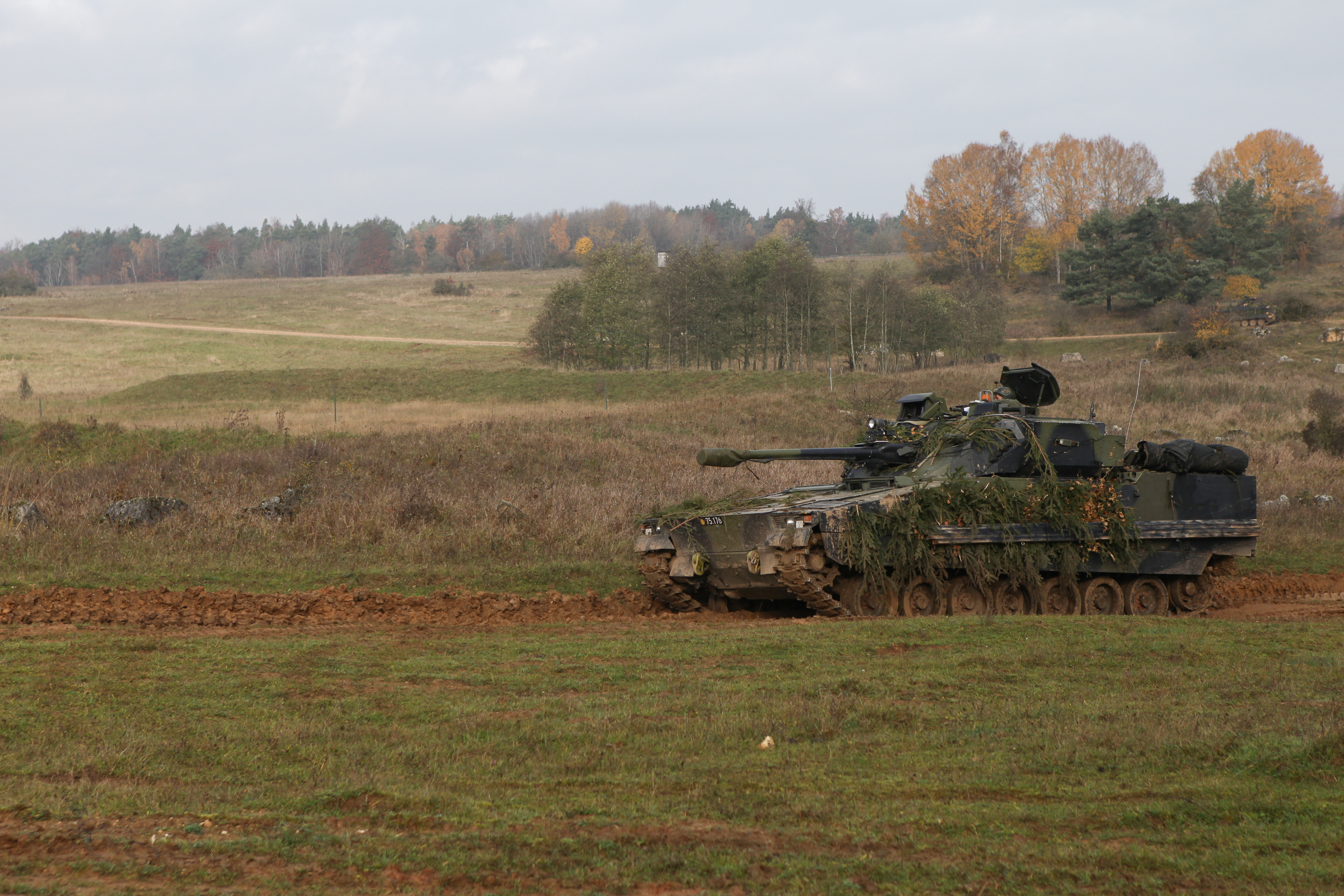 Danish CV9035DK Combined Resolve III