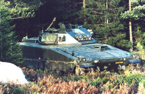 Strf 9040 Prototype ID Number 204798 with 90 Stripbv Turret