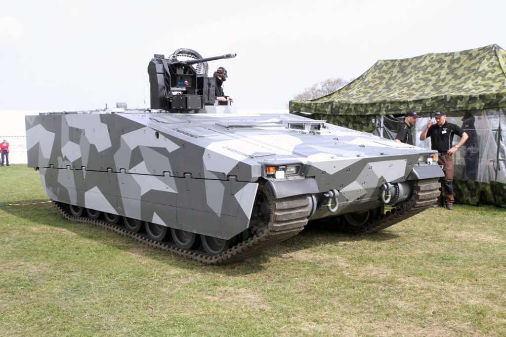 CV90 Armadillo IFV Variant with 30mm Cannon