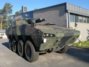 Finnish Patria AMV AMOS Mortar (2)