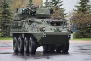 Infantry Carrier Vehicle Dragoon (Stryker) with the PROTECTOR MCT-30 Turret