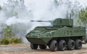 PROTECTOR MCT-30 Turret on the upgraded Stryker Dragoon