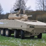 Patria AMV 28A with the PROTECTOR MCT-30 Turret