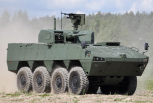 Patria AMV Nordic with the PROTECTOR MCT-30 Turret