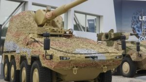 Artec Boxer Self Propelled Gun – Artillery Gun Module by KMW
