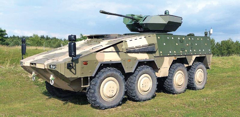 The Lithuanian VILKAS Infantry Fighting Vehicle – Boxer IFV hull and Samson MkII RWS