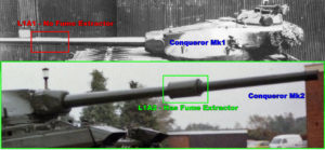 Conqueror Tank Mk1 and Mk2 Differences