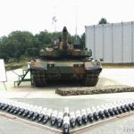 K2 Black Panther Tank 120mm L55 Smoothbore gun bombload