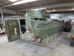 Marder 2 Infantry Fighting Vehicle rear