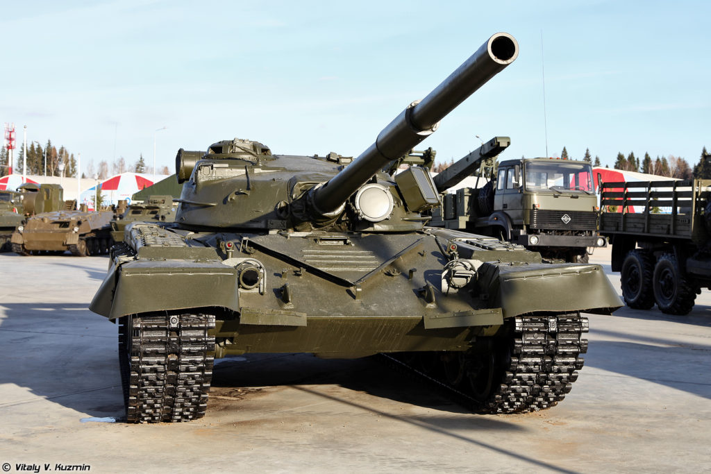 T-80 Tank First Production Model