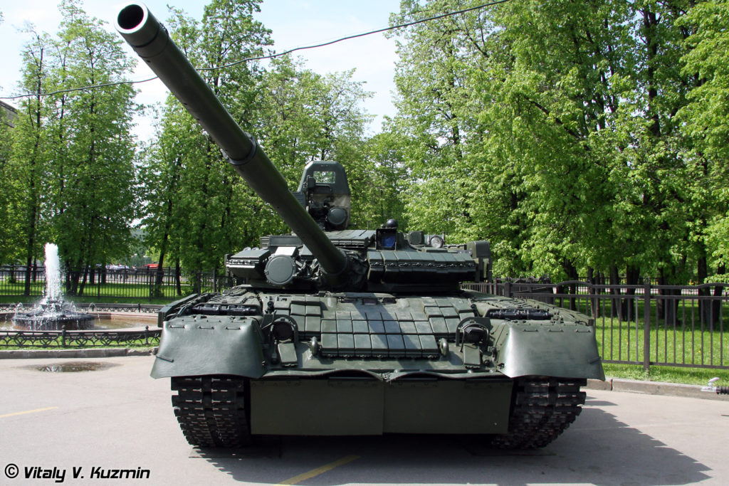 T-80T Tank Upgrade the T-80BV Tank