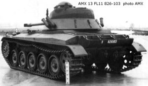 AMX-13-75 Light Tank FL-11 turret (2)