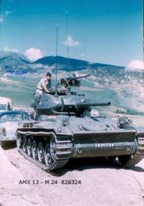 AMX-13-75 Light Tank Hull with Chaffee Turret (2)