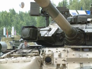 Russian T-80U Command Tank The T-80UK