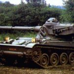The French AMX-13-90 Light Tank