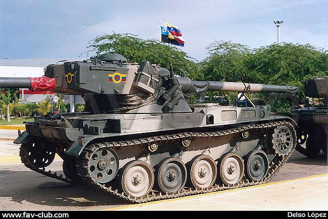 Venezuela AMX-13-90 Light Tank The AMX-13V