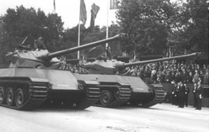 French AMX-50 Tank – Second AMX-50 100 Prototype built from scratch Image #2