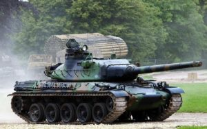 The French AMX-30 Tank model AMX-30B