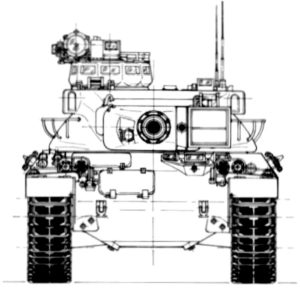 AMX-30B Diagram 1